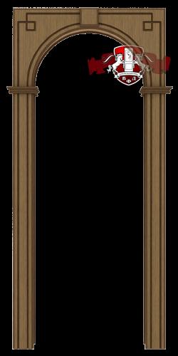 Межкомнатная арка, орех